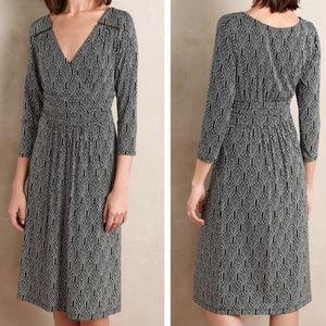 Anthropologie Maeve Galena Midi Dress Empire knit